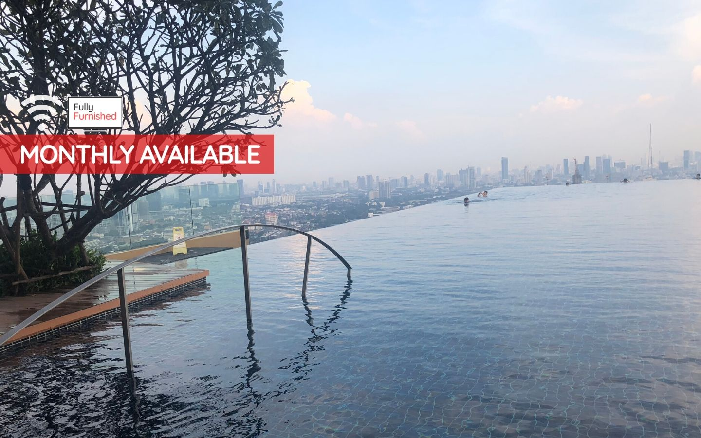 Fully Furnished 1 Bedroom Condo at The Tree Rio Bang Aor Station-1
